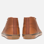 Мужские кеды Fred Perry Haydon Mid Leather Tan фото- 3