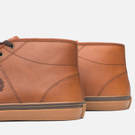 Мужские кеды Fred Perry Haydon Mid Leather Tan фото- 5