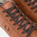Мужские кеды Fred Perry Haydon Mid Leather Tan фото- 6