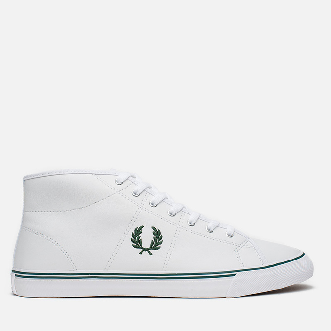 Мужские кеды Fred Perry Haydon Mid Leather White