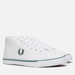 Fred Perry Haydon Mid Leather Men's Plimsoles White photo- 1