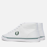 Мужские кеды Fred Perry Haydon Mid Leather White фото- 2