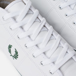Мужские кеды Fred Perry Haydon Mid Leather White фото- 6