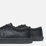 Мужские кеды Fred Perry Kendrick Tipped Cuff Leather Black фото- 5