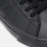 Мужские кеды Fred Perry Kendrick Tipped Cuff Leather Black фото- 7
