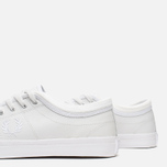 Fred Perry Kendrick Tipped Cuff Leather Men's Plimsoles White photo- 5