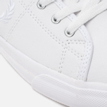 Fred Perry Kendrick Tipped Cuff Leather Men's Plimsoles White photo- 7