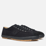 Мужские кеды Fred Perry Laurel Table Tennis Canvas Black фото- 1