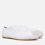 Мужские кеды Fred Perry Laurel Table Tennis Canvas White фото- 1