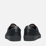 Мужские кеды Fred Perry Spencer Canvas Leather Black фото- 3
