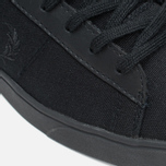 Мужские кеды Fred Perry Spencer Canvas Leather Black фото- 7