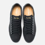 Мужские кеды Fred Perry Spencer Canvas Leather Black фото- 4