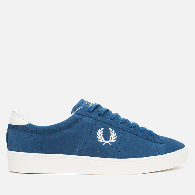 Fred Perry Spencer Suede Men's Plimsoles Bluebird