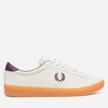 Мужские кеды Fred Perry Spencer Suede Porcelain фото- 0