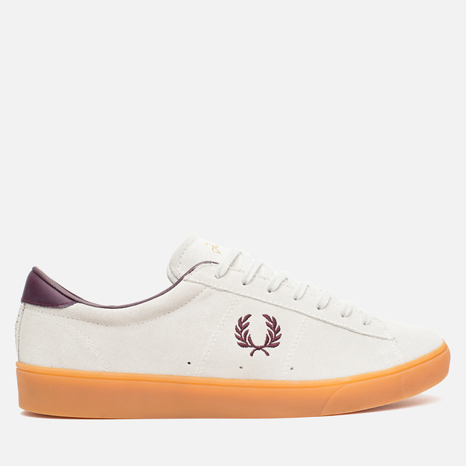 Мужские кеды Fred Perry Spencer Suede Porcelain
