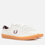 Мужские кеды Fred Perry Spencer Suede Porcelain фото- 1