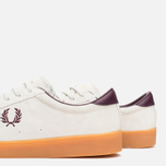 Мужские кеды Fred Perry Spencer Suede Porcelain фото- 5