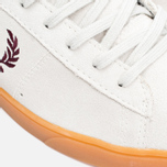 Fred Perry Spencer Suede Men's Plimsoles Porcelain photo- 7
