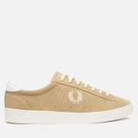 Мужские кеды Fred Perry Spencer Suede Warm Stone фото- 0