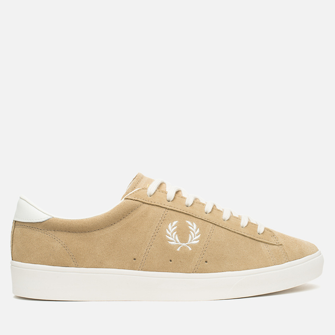 Мужские кеды Fred Perry Spencer Suede Warm Stone
