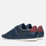 Мужские кеды Lacoste Chaymon PRM US SPM Dark Blue/Dark Red фото- 2