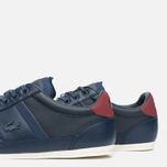 Мужские кеды Lacoste Chaymon PRM US SPM Dark Blue/Dark Red фото- 5