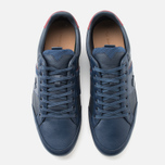 Мужские кеды Lacoste Chaymon PRM US SPM Dark Blue/Dark Red фото- 4