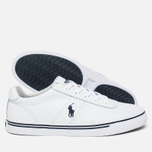Мужские кеды Polo Ralph Lauren Hanford White фото- 2
