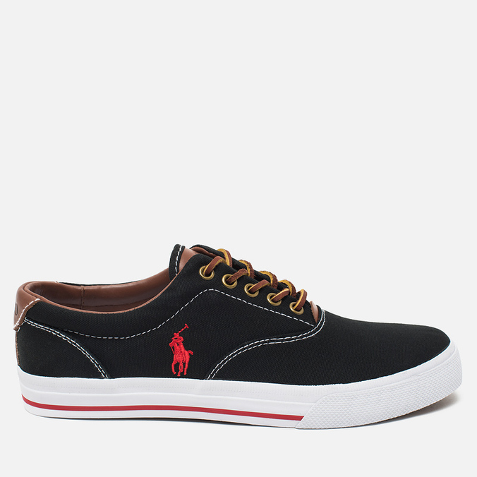 Polo Ralph Lauren Vaughn NE Men's Plimsoles Black