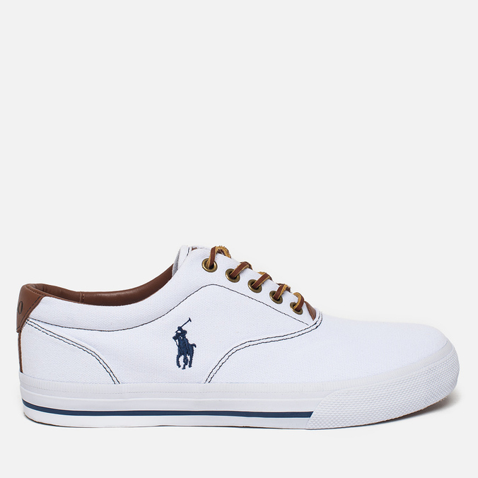 Мужские кеды Polo Ralph Lauren Vaughn NE White
