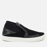 Мужские кеды Stone Island Shadow Project Step-On Slip-On Black фото- 0