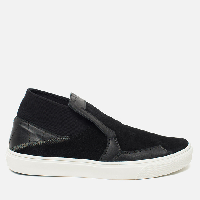 Мужские кеды Stone Island Shadow Project Step-On Slip-On Black