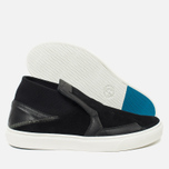 Мужские кеды Stone Island Shadow Project Step-On Slip-On Black фото- 2
