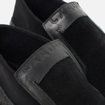 Мужские кеды Stone Island Shadow Project Step-On Slip-On Black фото- 6