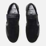 Мужские кеды Stone Island Shadow Project Step-On Slip-On Black фото- 4