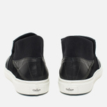Мужские кеды Stone Island Shadow Project Step-On Slip-On Black фото- 3