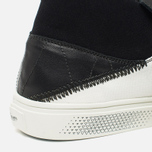 Мужские кеды Stone Island Shadow Project Step-On Slip-On Black фото- 5