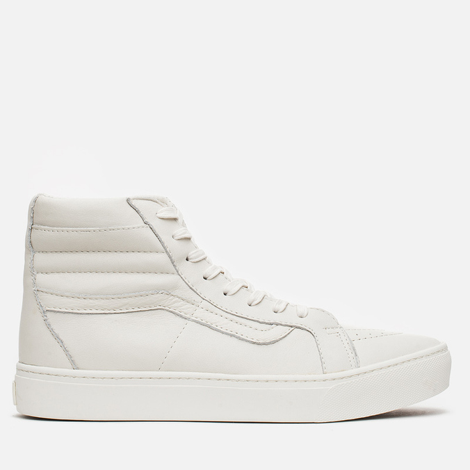 Мужские кеды Vans California SK8-Hi Cup Whisper White