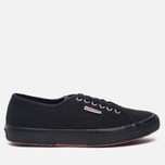Кеды Superga 2750 Cotu Classic Total Black фото- 0