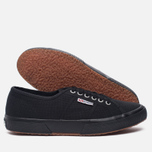 Кеды Superga 2750 Cotu Classic Total Black фото- 2