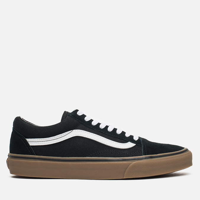 Мужские кеды Vans Old Skool Black/Medium Gum