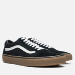 Мужские кеды Vans Old Skool Black/Medium Gum фото- 1