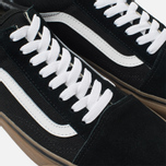 Мужские кеды Vans Old Skool Black/Medium Gum фото- 5