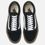 Мужские кеды Vans Old Skool Black/Medium Gum фото- 4