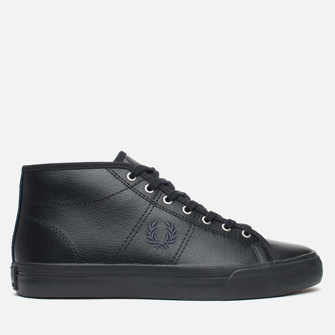 Женские кеды Fred Perry Haydon Mid Leather Black