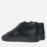 Женские кеды Fred Perry Haydon Mid Leather Black фото- 2