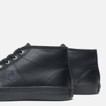 Женские кеды Fred Perry Haydon Mid Leather Black фото- 5