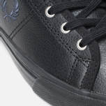 Женские кеды Fred Perry Haydon Mid Leather Black фото- 7