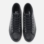 Женские кеды Fred Perry Haydon Mid Leather Black фото- 4
