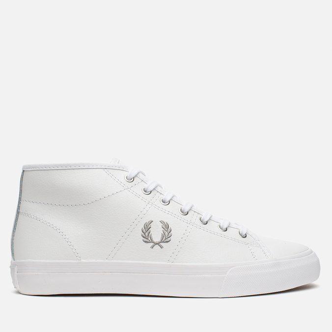 Женские кеды Fred Perry Haydon Mid Leather White